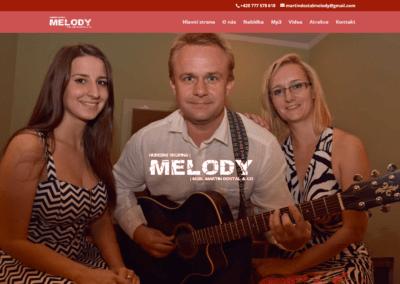 MELODY MUSIC Stránka hudební skupiny