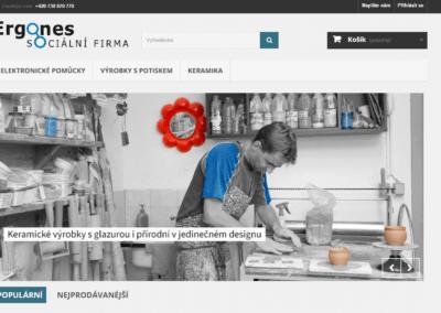 E-shop -ERGONES