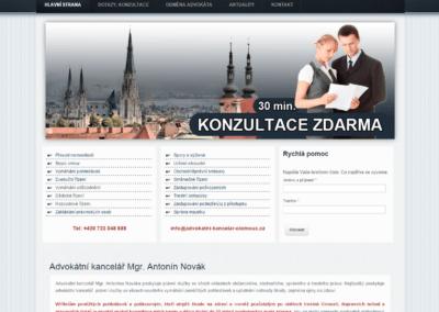 Advokatnikaní kancelář Olomouc